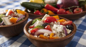 Barley Greek Salad
