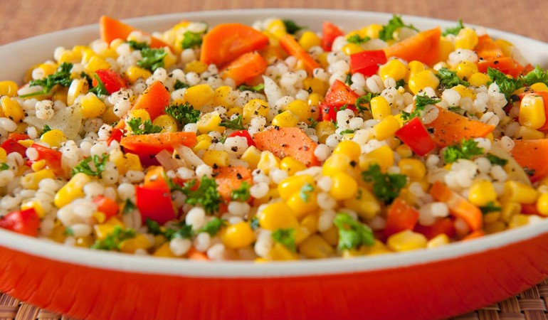 Corn and Barley Bake