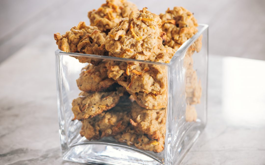 Carrot and Honey Cookies