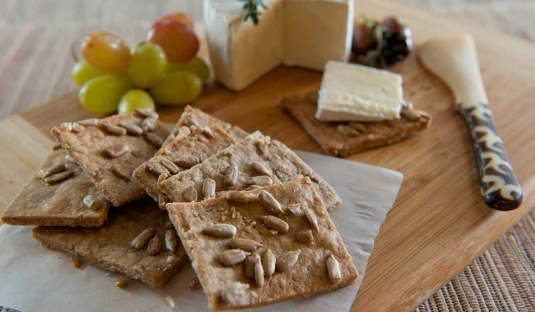 Sunflower Barley Crackers